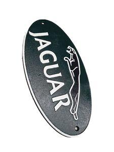 Jaguar Cars Logo - Large Cast Iron Sign Plaque 35cm