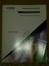 Harris Semiconductors Communications Products Book
