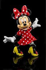 "HEROCROSS Disney's Minnie Mouse Hybrid Metal Figuration 5.5"" Tall Action Figure"