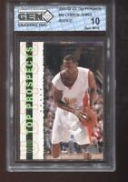 Lebron James RC 2003-04 UD Top Prospects #60 HOF Rookie GEM MINT 10