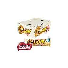 NESTLE LION BAR  CHOCOLATE WHITE  40 x 42g FULL BOX Long Dates