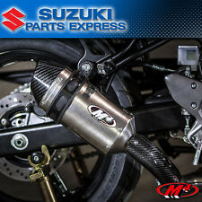 2017 SUZUKI SV650 SV 650 M4 EXHAUST STANDARD TITANIUM SLIP ON MUFFLER SU6626