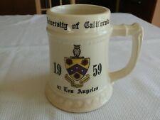 1959 Ucla Bruins Beer Stiein Mug England University California Los Angeles