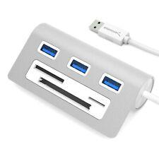 Sabrent 3-Port USB 3.0 Hub With CF-SD-TF Card Reader Model SABHBMACR