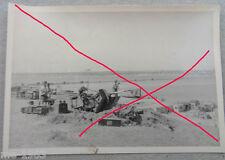 original  Foto  Russland Flak Brückensicherung  2  cm   50 Inf.Div.