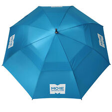 "MoreSports 58"" Double Canopy Umbrella UV Protection Auto-Open Strong Gust Golf"