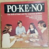 Po Ke-No Family Card Game - 12 Board & 200 Chip Set PO2 US Playing Card Co.