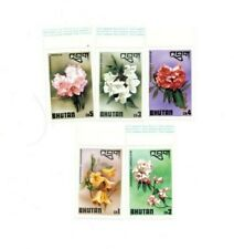SPECIAL LOT Bhutan 1976 SC 203-7 - Flowers - Mixed Values - MNH Sheets