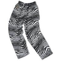 Oakland Raiders Zubaz Adult Pants Black/White