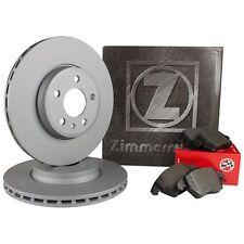 ZIMMERMANN Bremsscheiben Set Ø308mm vorne + Bremsbeläge Opel Astra H Zafira A/B