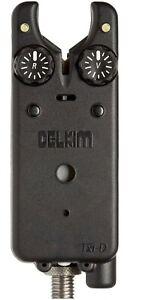 Delkim Txi-D Bite Alarm or Rx-D Receiver *All Colours* New Carp Fishing Alarms
