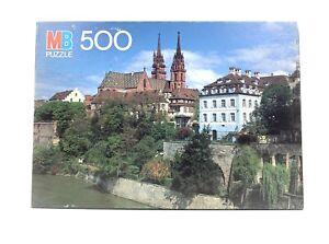 Vintage MB Milton Bradley Croxley 500 Piece Puzzle Basel Switzerland 1986 NEW