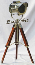 Nautical Vintage Collectible Tripod Studio Searchlight Standing Floor Lamp Gift