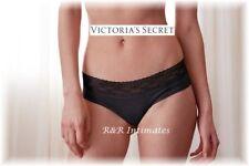 Victoria's Secret Lace Waist Cheeky Hiphugger, 327959, Black, Size XLarge