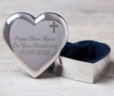 Personalised Trinket Box for Christening First 1st Holy Communion Girls Gifts