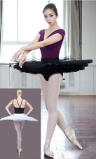Professional Dance Ballet Pleated Practice Pancake Tutu Skirt 5 Layers
