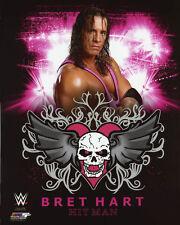 Pro Wrestler BRET THE HITMAN HART Glossy 8x10 Photo WWF Print Poster HOF 2006