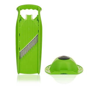 Börner Welle-Waffel PowerLine Gemüseschneider + Fruchthalter für Waffelschnitt