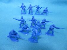 1/32 Timpo Civil War Union Toy Soldiers in Blue color 12 in 4 poses