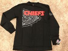 Kansas City Chiefs NFL Majestic Elite Reflective Long Sleeve T-Shirt Medium NWT