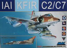 AMK (Avant Garde) 1/72 AMK86002 IAI Kfir C2/C7 Model kit
