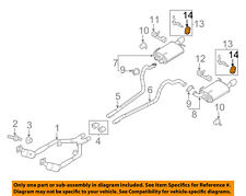 FORD OEM 11-14 Mustang 3.7L-V6 Exhaust-Hanger Insulator BR3Z5A262A