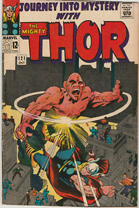 JOURNEY INTO MYSTERY 121 - THE ABSORBING MAN - OCTOBER 1965