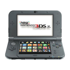 Nintendo New 3DS XL Launch Edition Black Handheld System!