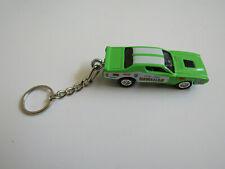 1971 Dodge Charger Hawaiian Nhra Drag Car Diecast Model Keychain Bright Green