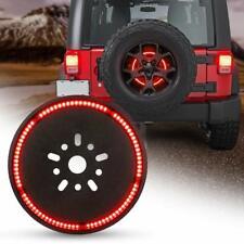 Spare Tire Third Brake Light LED Wheel Ring Light for Jeep Wrangler 1997-2018