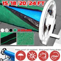 Solar Blanket Winter Solar Roller Reel Heavy Duty Cover Swimming Pool Adjustable