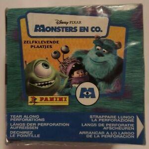 2001 Panini Disney Pixar Monsters Inc. Sticker Box New Sealed