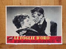 LE FOGLIE D'ORO fotobusta poster Bright Leaf Lauren Bacall Gary Cooper Neal G43
