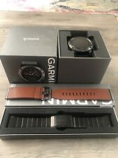 Garmin Fenix 5x Sapphire GPS Watch, Excellent Condition, Extras, Stainless Band,