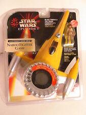 Star Wars Episode 1 The Phantom Menace Hand Held Naboo Fighter Video Game NIB