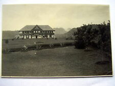OLD REAL PHOTO-PC: INDONESIA~BRASTAGI~HOTEL BRASTAGI~ca 1930~PHOTO: ASADA
