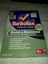 TurboTax 2008 Home & Business with state. Used in Box. Collectors Item Fr:Intuit