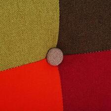Fauteuils patchwork en tissu pour la maison