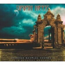 "URIAH HEEP ""OFFICIAL BOOTLEG VOL. 2"" 2 CD NEU"