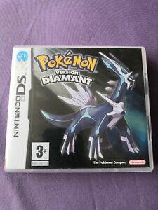 Pokemon Version Diamant / Jeu DS / Complet sans Jeu / Pal FR