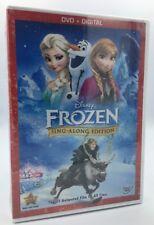 Frozen (DVD+Digital HD, 2014; Sing-Along Edition) NEW