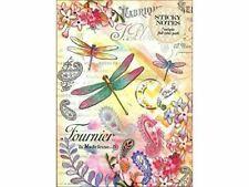 Dragonflies Sticky Pad Portfolio by Punch Studio
