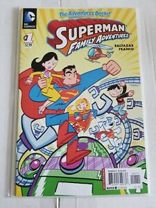 SUPERMAN FAMILY ADVENTURES #1 FIRST APPEARANCE FUZZY THE KRYPTO MOUSE DC