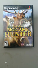 BIG GAME HUNTER PLAYSTATION 2 PS2 COMPLETE IN BOX W/ MANUAL CIB