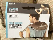 NEW HoMedics NMS-600 Back & Shoulder Percussion Massager with Heat