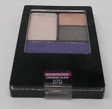Maybelline New York Pressed Powder EyeShadow Quad Luminous Lilac 07Q Factory Sea