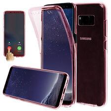 Résistant Aux Chocs 360° Silicone Gel Clair Coque Pour Samsung Galaxy S8 S8 Plus