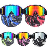 Winter Sports Snow Ski Goggles Sun Glasses Skate Snowboard Snowmobile Face Mask