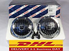 Bosch Horns Vintage Style Grille Chrome VW,Porsche,Mercedes, Bmw, Porsche,Ford