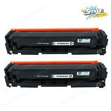 2PK 201X CF400X Black High Yield Color Toner For HP LaserJet M252dw M277dw M277n